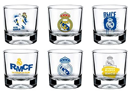 Ls merchandising sl vasos chupito Real Madrid