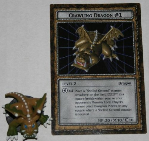 B3-11 Crawling Dragon #1 Level 2 American Yugioh DungeonDice Series 3 Ultimate Wrath Single Monster and (Crawling Dragon)