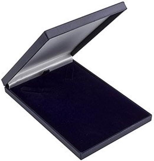 Caja de regalo fina: Forrada de satén para collar / colgante ...