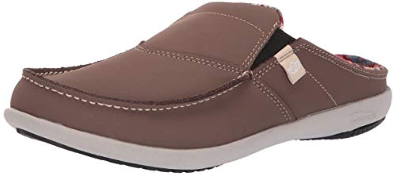 Spenco First Nation Slide Womens Comfort Shoe Mineral - 9 Wide