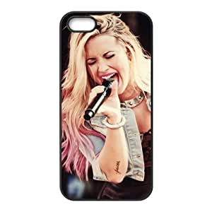 Customzie Your Own Singer Demi Lovato Back Case for iphone 5 5S JN5S-2316