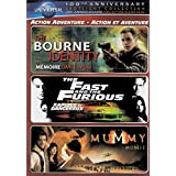 The Bourne Identity / The Fast And The Furious / The Mummy