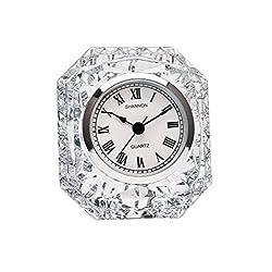 Godinger Emerald Clock - Crystal