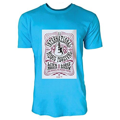 SINUS ART® Kult Poster aus den 60ern und 70ern Herren T-Shirts in Karibik