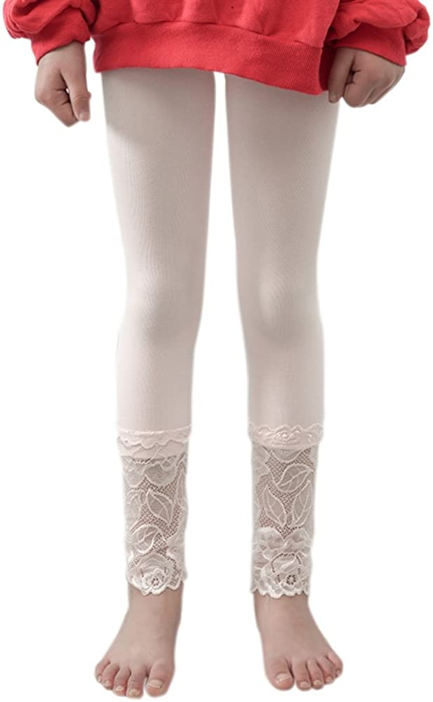 Loveble Girls Leggings Velvet and Lace Pants Easy to Collocation with Skirts