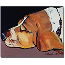 Farley by Pat Saunders-White, 18x24-Inch Canvas Wall Art
