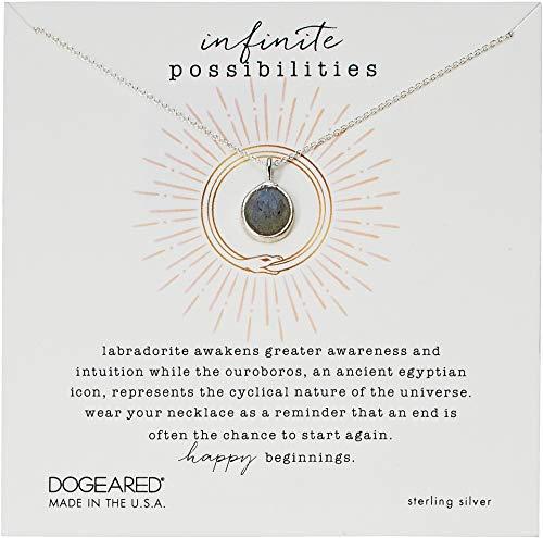 Dogeared Women's Infinite Possibilities, Ouroboros...