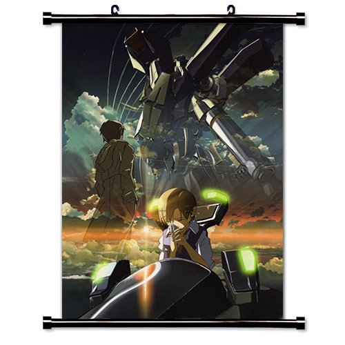 Voices of a Distant Star (Hoshi no Koe) Anime Fabric Wall Scroll Poster (16 x 22) Inches.[WP]-Voi-1 (Voices Of A Distant Star Blu Ray)