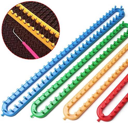 Tivollyff 文ロングニットツールニットウール織機ミシン針セーターかぎ針編み縫製ツールプラスチック城ウェーバー