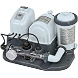Intex 120V Krystal Clear Cartridge Filter Pump & Saltwater System with E.C.O. (Electrocatalytic Oxidation) for Above Ground Pools