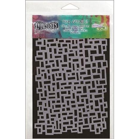 5 by 8-Inch Blocks Ranger DYS-40651 Dyan Reaveleys Dylusions Stencils