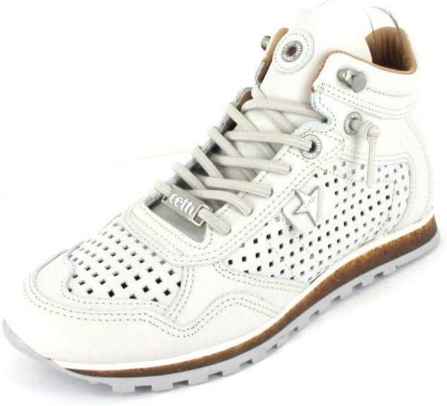 Cetti C 848 SRA Damen Schuhe Sneakers Sweet Off White