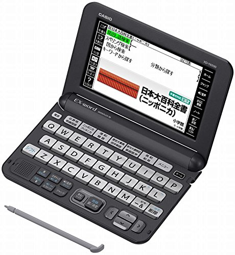 Casio NEW EX-word Electronic Dictionary XD-Y6500BK Black 2016Model (Japan Import)