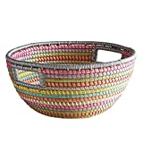 Pier 1 Imports Natura Rainbow Seagrass Shelf Basket Storage