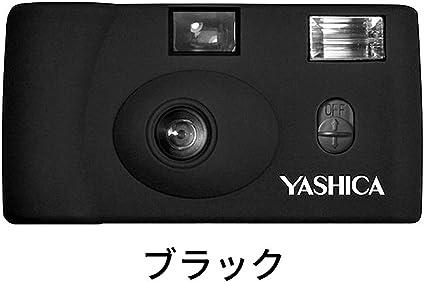 Yashica Mf 1 Schwarz Snapshot 35 Mm Kleinbild Kamera