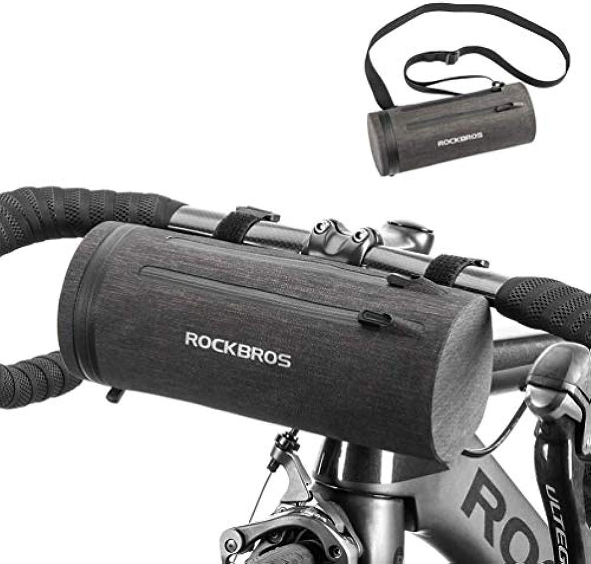 [해외] 락브로스 자전거 원통형 핸들바 수납백