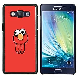 """Be-Star Único Patrón Plástico Duro Fundas Cover Cubre Hard Case Cover Para Samsung Galaxy A5 / SM-A500 ( Gracioso - Muppt"""" )"""