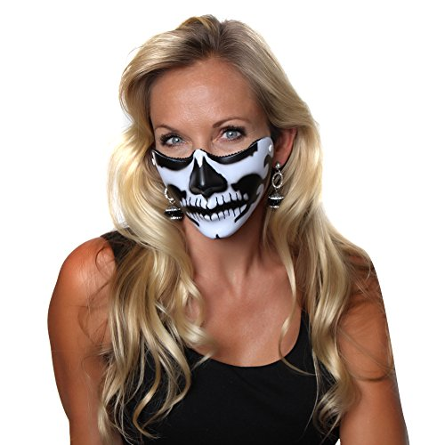 Making Believe Skeleton Mouth Half Mask for $<!--$7.99-->