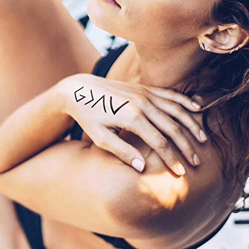 God is Greater Than My Highs and Lows - Tatuaje temporal (conjunto ...