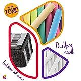 Kedudes Non-Toxic White Dustless Chalk