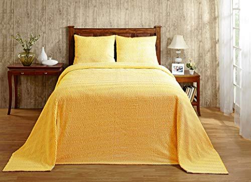 Better Trends/ Pan Overseas Natick Chenille Twin Bedspread 81