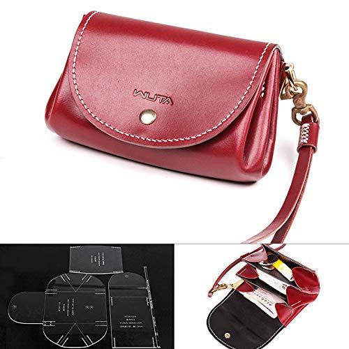WUTA Leather Mini Lady Clutch Handbag Template Acrylic Leather Pattern Craft Tool 957 -