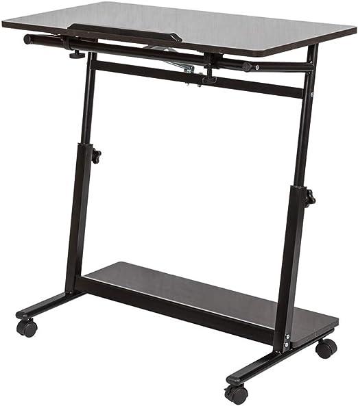 Huisen Furniture - Mesa de Escritorio Ajustable para Ordenador ...