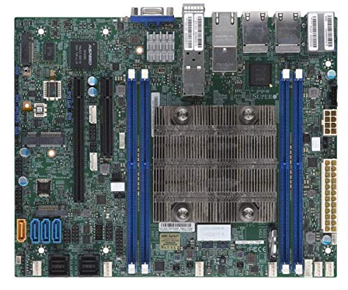 Ethernet Supermicro Motherboard (Supermicro X11SDV-12C-TP8F Motherboard)