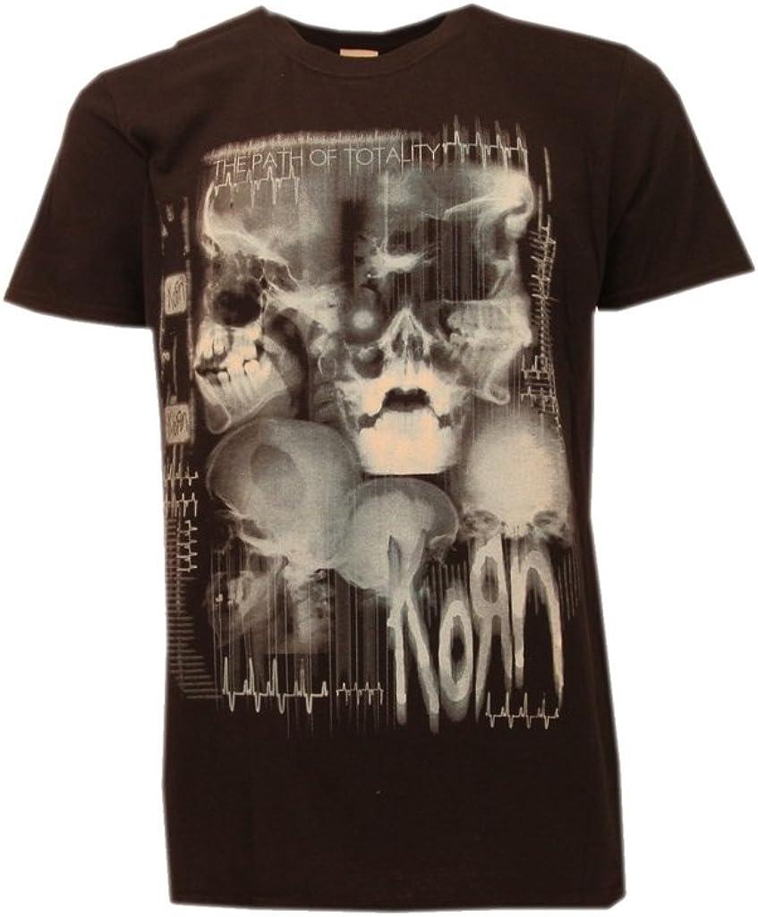 Camiseta Korn – Música Rock negra XX-Small: Amazon.es: Ropa y accesorios