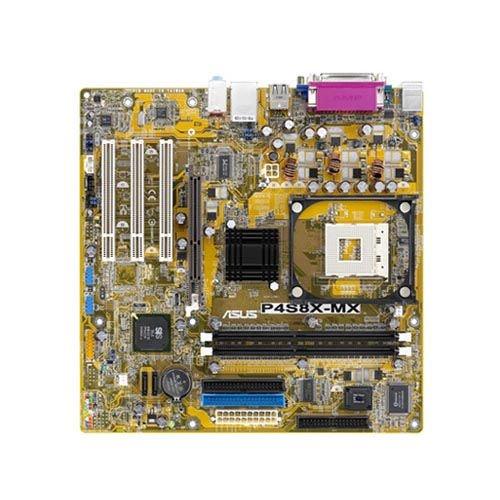 ASUS P4S8X-MX Asus P4S8X-MX Socket 478 MicroATX Intel Motherboard (Socket Asus Motherboard 478)