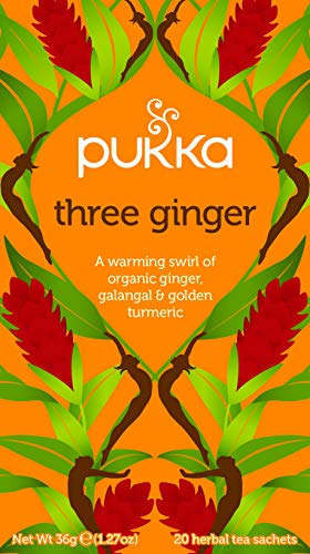 Pukka Herbs Ltd. - Three Ginger Tea 20 sachets by PUKKA HERBAL AYURVEDA