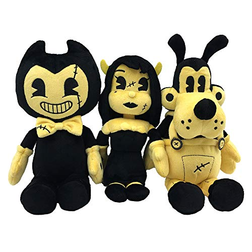 Price comparison product image Bendy and the Ink Machine : Heavenly Toys Beanie Plush Bundle