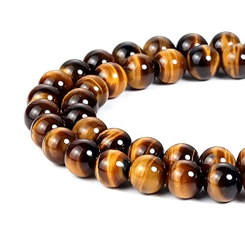 2mm Natural Yellow Tiger Eye Beads Round Gemstone Loose Beads for Jewelry Making (195-200pcs/strand)