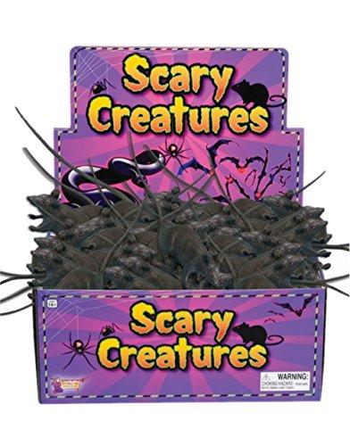 Black Rubber Halloween Horror Decoration