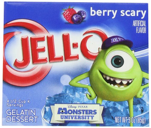 JELL-O Berry Blue Gelatin Dessert Mix (3 oz Boxes, Pack of 24) (Best Grape Jello Shots)