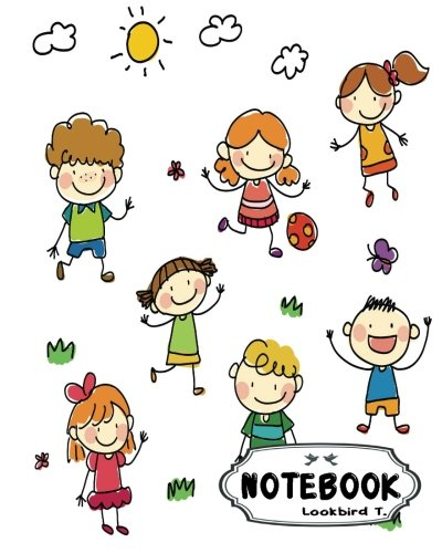 """Download Notebook: Journal Dot-Grid,Graph,Lined,Blank No Lined : Sketchy children : Notebook Journal Diary, 120 pages, 8"""" x 10"""" (Blank Notebook Journal) pdf"""