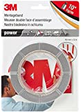 3M Ruban adhésif fort Power, double face, gris, 19 mm x 5 m, 0,8 mm