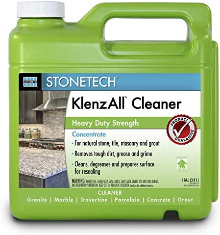 StoneTech KlenzAll, Heavy Duty Cleaner for Stone & Tile, 1-Gallon (3.785L)