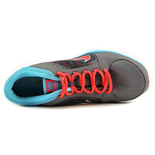 Nike Flex Trainer 4de la mujer zapatos Gris/Azul (Cool Grey/Polarized Blue/Laser Crimson)