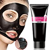 Blackhead Removal Mask OR Pure Black Mask,Blackhead Remover Mask,Bamboo Charcoal Peel-off Mask ,Purifying Mask Beauty Mask Black Mud Pore Removal Strip Mask to Deep Cleansing, Acne Treatment Oil-Control (Peel-off mask)