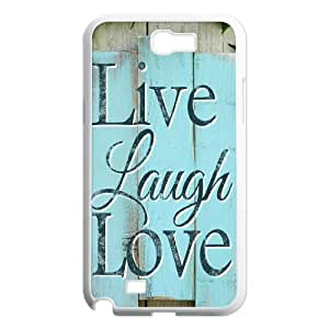 Live Laugh Love Classic Personalized Phone Case for Samsung Galaxy Note 2 N7100,custom cover case ygtg576441