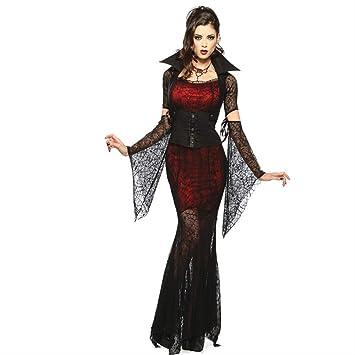 WARRT Disfraz de halloween Disfraz De Halloween Sexy Traje Vampiro ...
