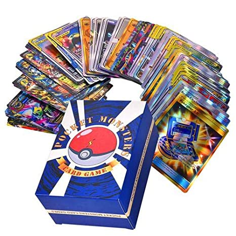 Tarjeta De Juego Tarjeta De Batalla Pokemon circulor 60//120 Pcs Cartas Pokemon Gx 30 Se Unen, 50 Mega Zhang, Zhang 20 Entrenador, 20 De Ultra Zhang GX Bestia Pok/émon Flash Card Ingl/és