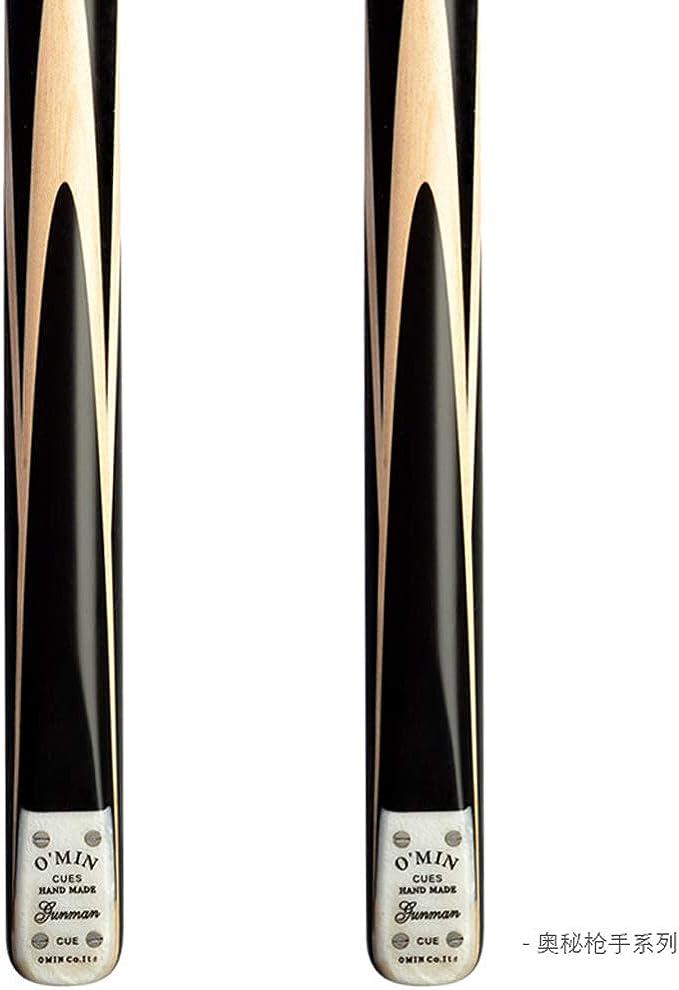 WXS Taco de Billar, Handcraft 3/4 Articulado Snooker Cue Stick/Ash+Ebony/Negro 8 Ocho Bola 10mm Negro Ocho 16 Colores Billar (Color : #3): Amazon.es: Deportes y aire libre