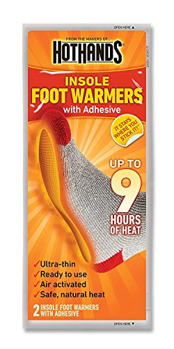 HotHands Insole Foot Warmers (32 pairs) W/ Free Carrying Pouch