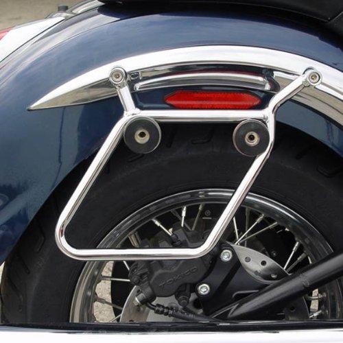 - National Cycle Cruiseliner Chrome Mount Kit for 1990-2011 Harley Davidson FLSTN(H)/FLSTSC/FLSTF