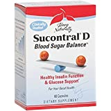 Terry Naturally Sucontral D - Blood Sugar Balance, 60 Capsules
