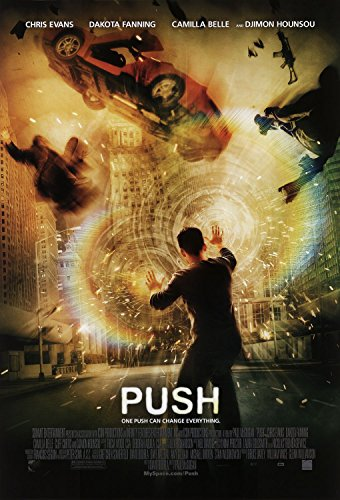 Push Camilla Belle Dakota Fanning Chris Evans Original Double Sided Rolled 27x40 Movie Poster 2004