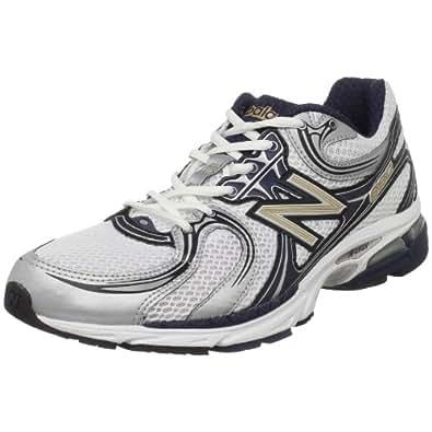 New Balance Men's MR860 Stability Running Shoe,Navy/Silver,8.5 D US