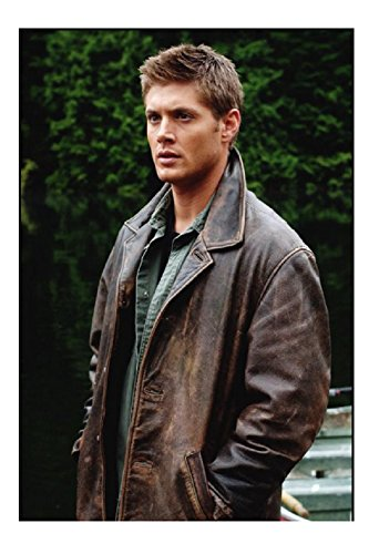 253b6134b SouthBeachLeather Mens Supernatural Distressed Brown Dean Winchester ...